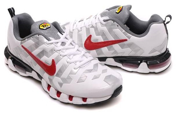 get new discount superior quality Boutique pour Nike Chaussure Homme Air Max TN 10 Blanc Argent Rouge