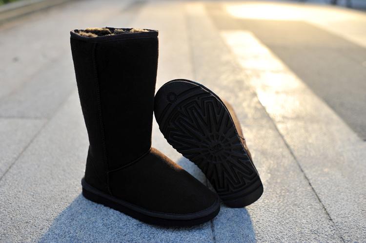 Boots neige femme intersport