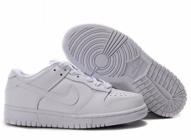 nike dunk blanche homme