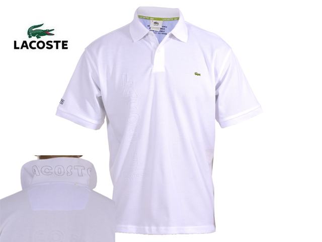 Blanc Et Polo Lacoste Orange collection 2009 1clKJTF3