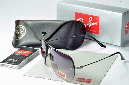 soldes lunette ray ban homme