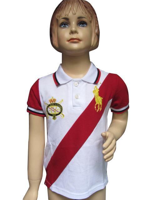 vetements Shirt Cerises Des Lauren T Le Ralph Fille Fille Temps Polo PZikuX